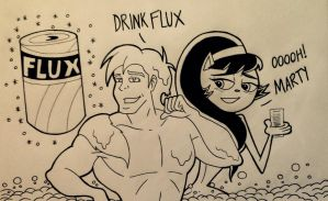 Drink Flux it will make you handsome by nicholasnrm123