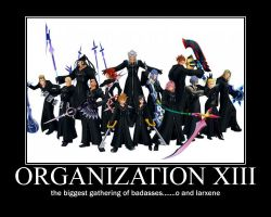 ORGANIZATION XIII by MRBUCKETGUY