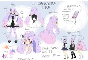 Spica Reference Sheet by Hacuubii