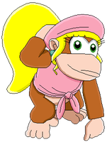 Dixie Kong by MollyKetty