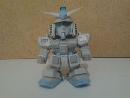 SD RX-78-3 ver ka papercraft by daigospencer
