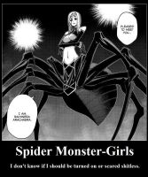 Rachnera Demotivational Poster by Ranmano1fan
