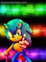 Sonic in ballad by heitor-jedi