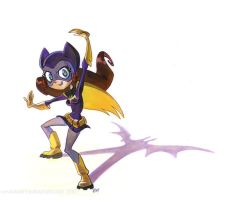 Batgirl by potatofarmgirl