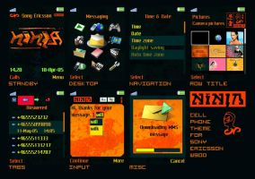 Ninja Cell Phone Theme W900 by NinjaKiller