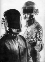 Daft Punk by lazyboy285