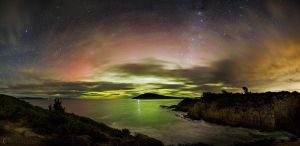 Widescreen Aurora by CapturingTheNight