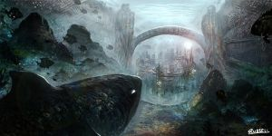 Underwater City by Ultragriffy