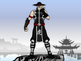 The Shaolin Warrior by Vectorman316