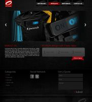 Octane Website by designer-hassan