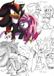 Shadow's Pregnancy..:.Amy Rose by Xx-JungleBeatz-xX