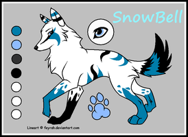 SnowBell the Wolf by Shinx07