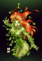 Posion Ivy - colors by gabcontreras