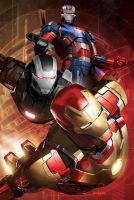 Iron Man 3 Promotion Poster Design by Ken-Sanada
