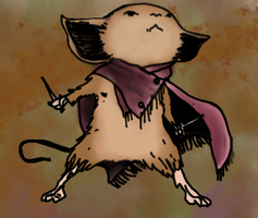 Sadie-Mouse Guard-Art Trade :3 by lydizzy