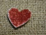 Burlap Heart by angelandspot