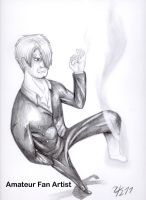 Sanji's Diable Jambe by AmateurFanArtist