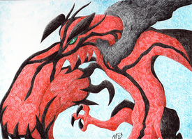 Yveltal by Lucky-Puppy