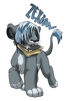 Zexion Lion Cub Request by Nightrizer