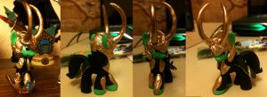 Custom Loki Pony by DemonDragonSaer