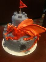 Dragon Castle by simplysweets