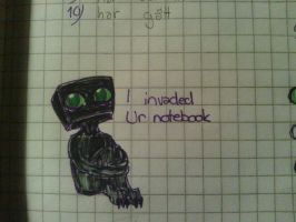 They are invading ur notebooks by MCRetroX