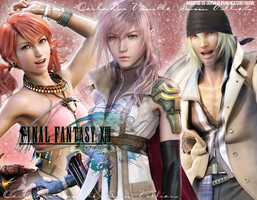 Final Fantasy XIII by OmniaMohamedArt