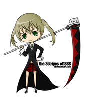 Chibi Maka-chaaaaaan by The-3stripes-of1888