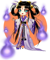(CLOSED) BUY NOW - Soul Priestess Chibi by CherrysDesigns