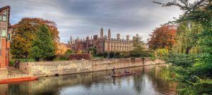 Warm Autumn in Cambridge by Pipera