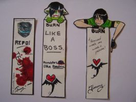Bookmarks of AWESOME. by xCountingBodiesx