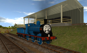 Douglas at Tidmouth by Sergeant-Sunflower