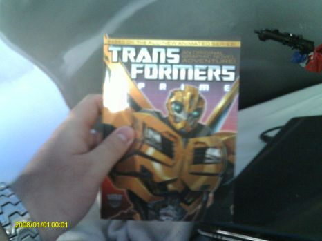 Transformers Prime Comic Book by Septimus-Prime