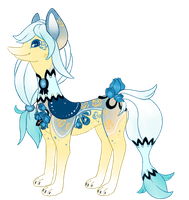 blue rose free raffle (closed) by bellpup