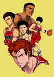 Slam Dunk - SHOHOKU by Chizuri