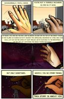 WTNV - A Story About you pg 1 by Owl-Publications