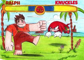 South Island ~ Heavy Fight! by Reallyfaster