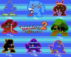 Megaman 2 Wallpaper by Neo-Kirby-and-watch