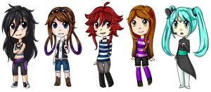 Chibis parte 1 by Rumay-Chian