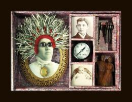 Mixed Media Assemblage 262 by GregPDX