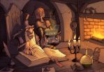 The Alchemist's Apprentice by GeorgeSellas