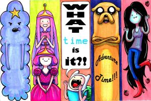 Adventure Time Bookmarks by Caden13