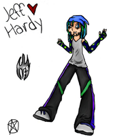 Jeff Hardy Collab :COLORED: by R-D-V-fan
