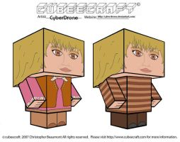Cubeecraft - Jo Grant by CyberDrone