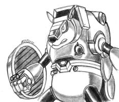 Armored Armadillo by MDTartist83