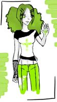 Green Lady by chickenpop