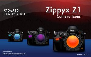 Zippyx Camera Icons by polimero