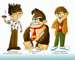 Random Copyrighted Characters by rwlpeter