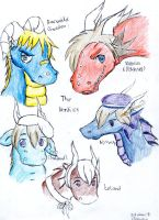 APH Dragons:Nordics by MeggyFenton
