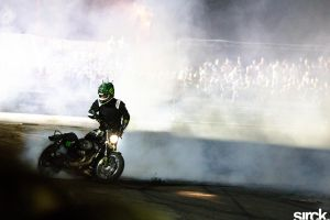 Moto burnout by small-sk8er
